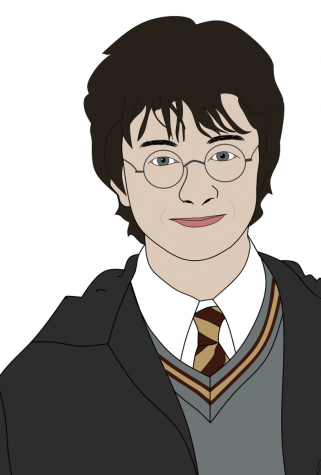 "An illustration of Harry Potter, the protagonist of the popular ""Harry Potter"" series"