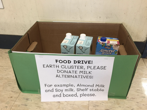 Specified food items for the OMS food drive can be dropped off in cluster W.I.N. rooms from 2/8-2/12