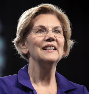 Massachusetts Senator Elizabeth Warren fielded questions during a virtual town hall over break.
