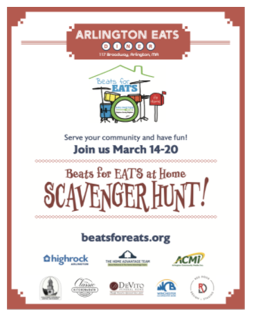 Arlington EATS Combats Food Insecurity With Beats for EATS Scavenger Hunt and Auction