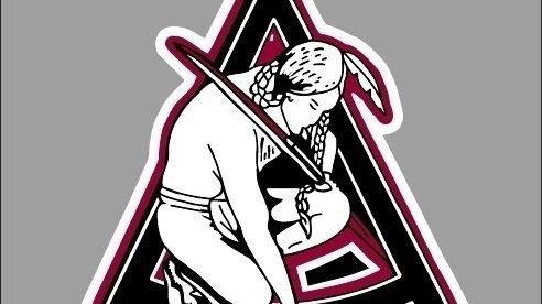Arlington High School's old mascot depicted a Native American man